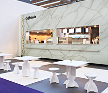 Cafées for Messe Frankfurt
