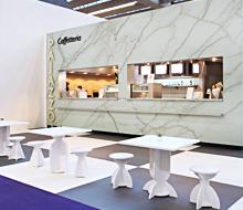 Cafées for Messe Frankfurt